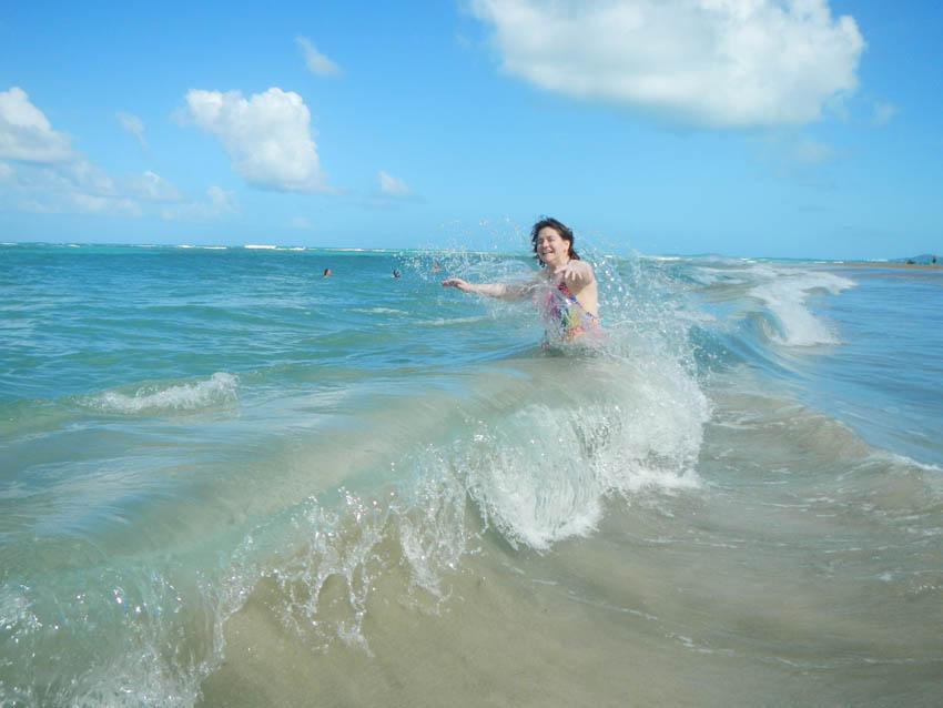 Wendy S At Playa Azul Luquillo Puerto Rico